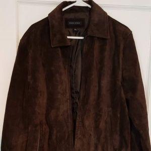Banana republic suede leather jacket